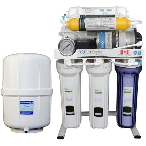 دستگاه تصفیه آب آکوآ اسپرینگ