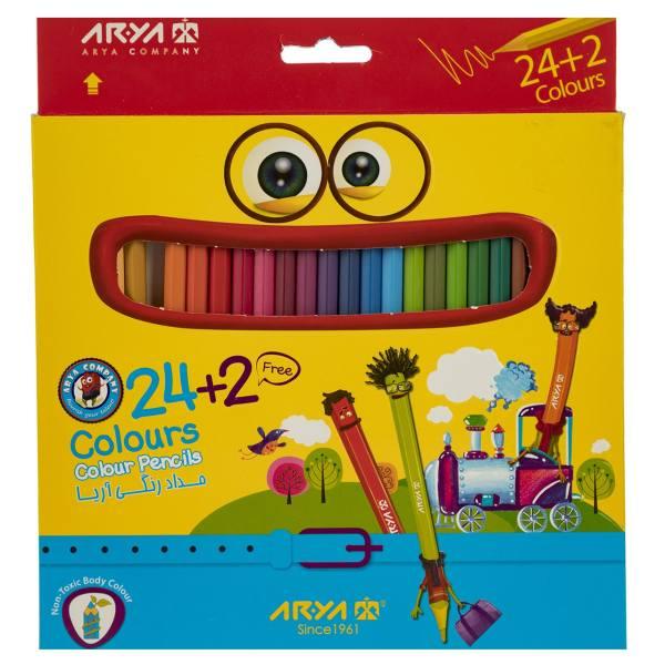 مداد رنگی آریا