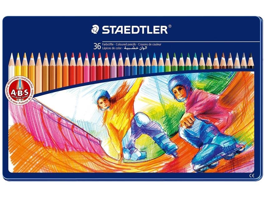 مداد رنگی استدلر