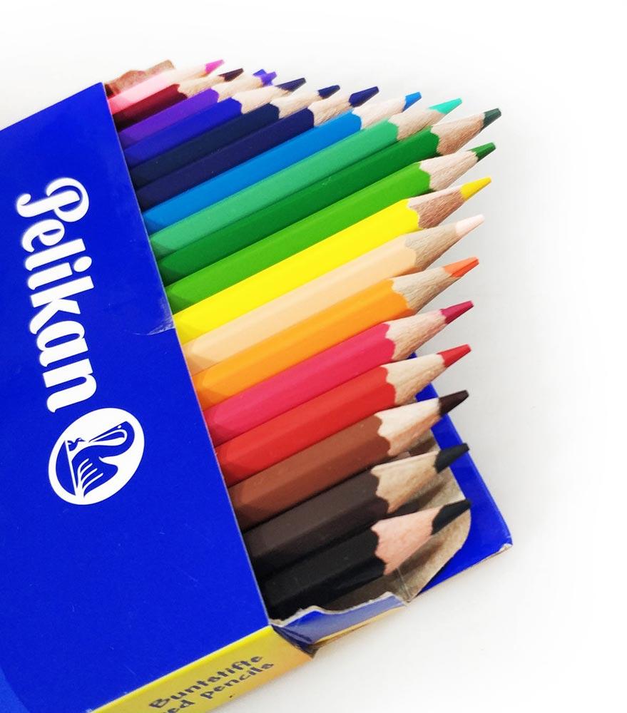 مداد رنگی پلیکان