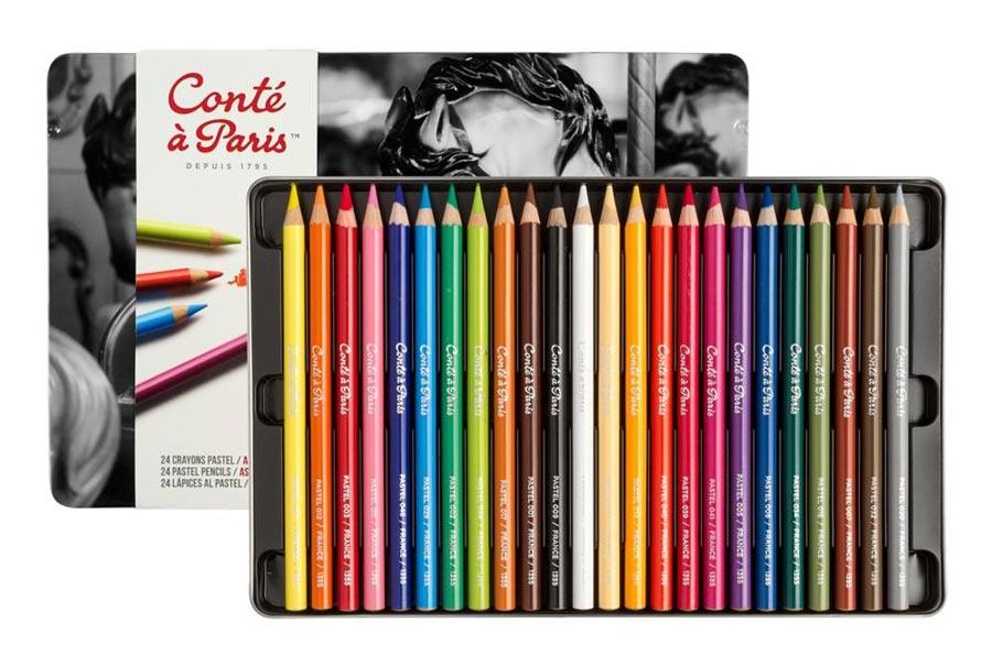 مداد رنگی کنته پاریس